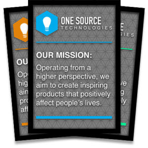 frames for company mission statements