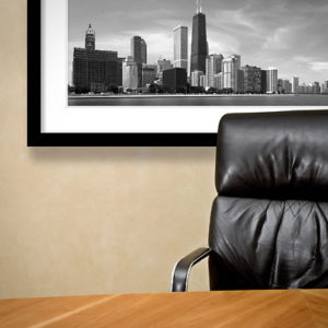 artwork graphics decorate corporate environment