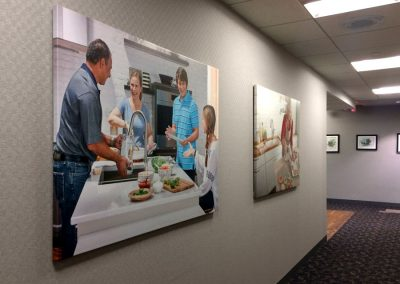 Canvas Wraps - Corporate Images