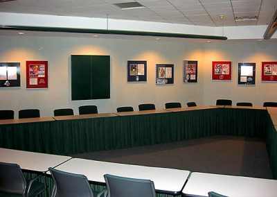 Custom Framed Conference Room Art