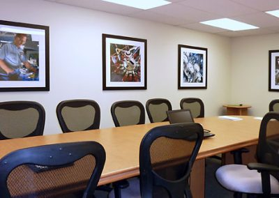 Framed Product Images - Conference Room