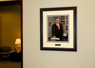 Corporate Portrait - Framed Display