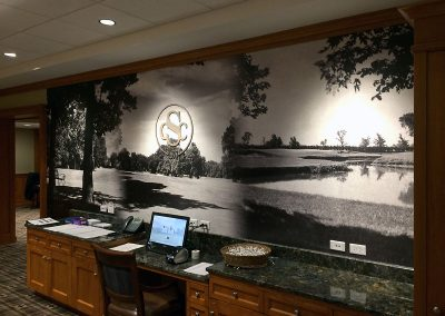 Custom Wall Graphic - Skokie Country Club