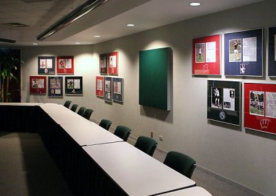 Conference Room Art Display