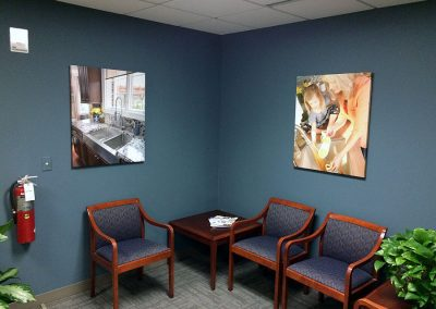Corporate Artwork - Waiting Room