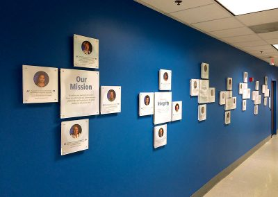 Company Values - Creative Display