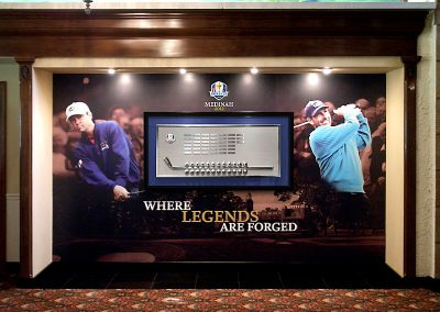 Custom Mural Backdrop - 39th Ryder Cup