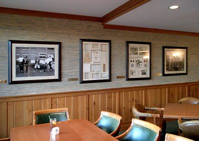 Framed Art - Skokie Country Club