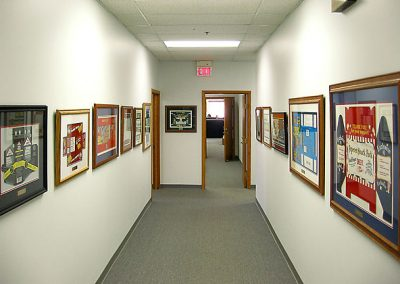 Office Artwork - Hallway