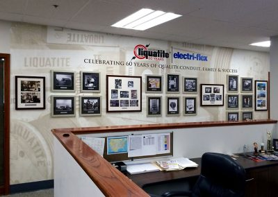 Heritage Display - Mural and Frames