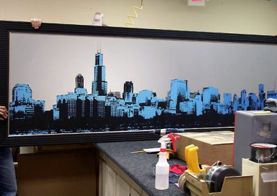 Custom Skyline Canvas Print