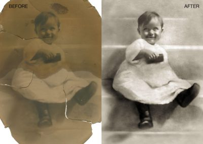 Antique Photo Restored