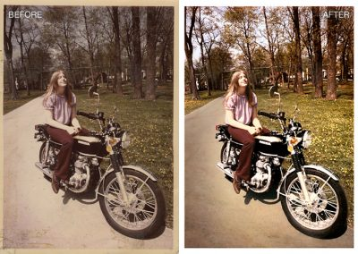 Vintage Photo Repair - Color Enhancement