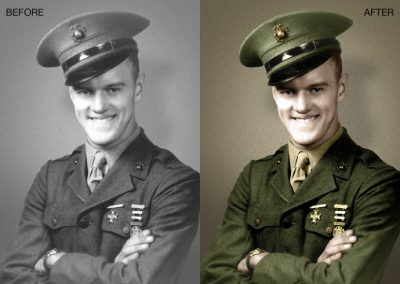 Military Photo - Color Recreation