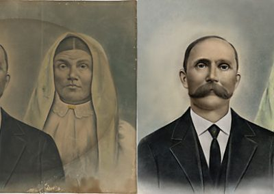 Family Photo - Portrait Restoration
