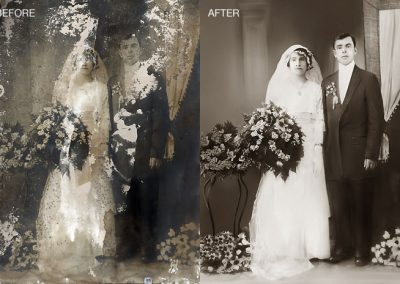 Wedding Photo - Full Restoration