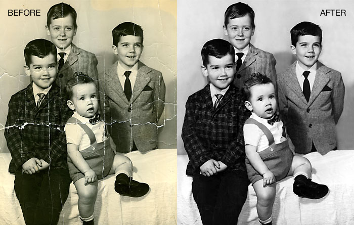 Photo Restoration Your Family Photos Restored By Experts Masterpiece