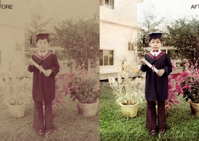 Photo Repair - Color Enhanced