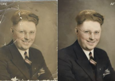 Old Portrait Restoration