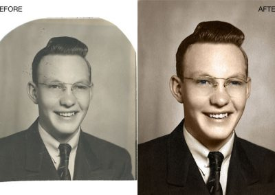 Photo Restoration - Subtle Color Enhancement