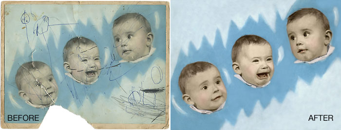 Old Family Photo - Full Restoration