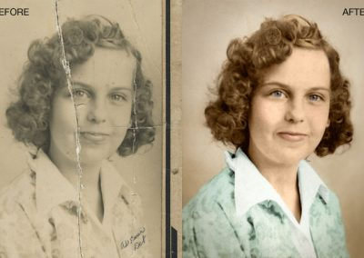Old Photo - Color Recreated