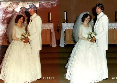 Wedding Photo - Water Damage Restoration