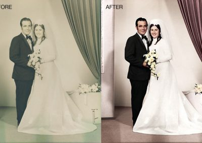 Wedding Photo - Color Restoration