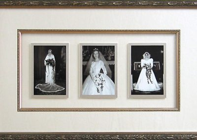 Frame for Antique Wedding Photos