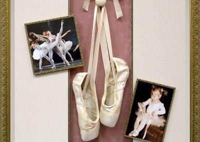 Ballet Shoes Shadowbox Frame