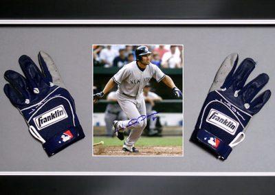 Baseball Gloves Display Frame