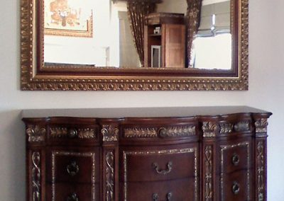 Custom Framed Oversize Mirror