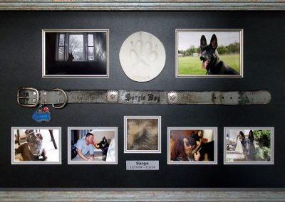Dog Memorial Shadowbox