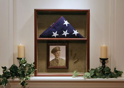 Framed Flag Display Case