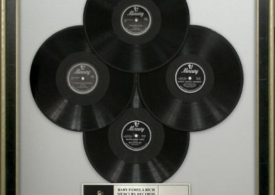 Vinyl Records Display Frame