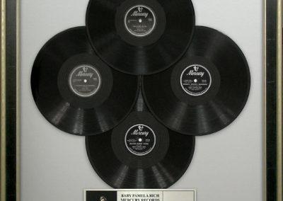 Vinyl Records Display Frame