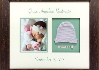 Newborn Baby Framed Collage