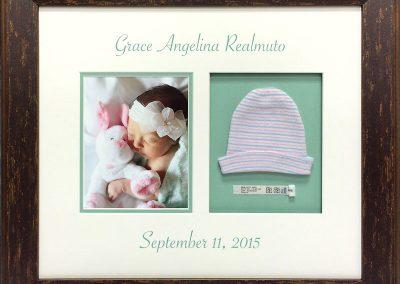 Newborn Baby Framed Collage