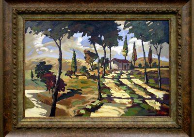 Custom Framed Oil Painting