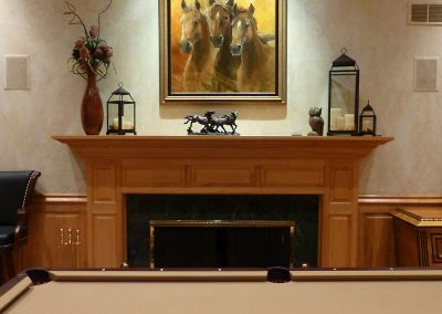 Framed Artwork for Billiard Room