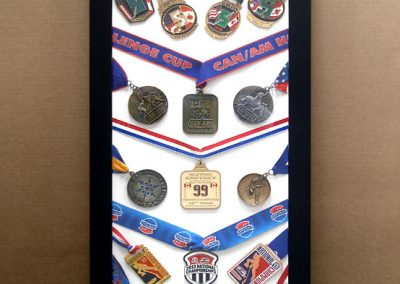 Frame for Hockey Medals