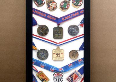 Frame for Hockey Medals