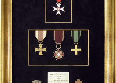 Military Medals Display Frame