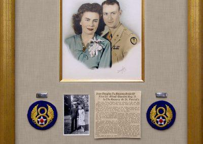 Shadowbox Frame for Military Memorabilia